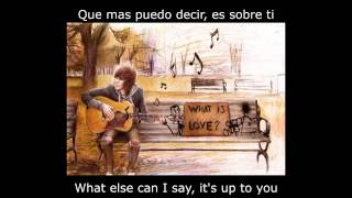 What Is Love - Haddaway - Subtitles, English, Spanish