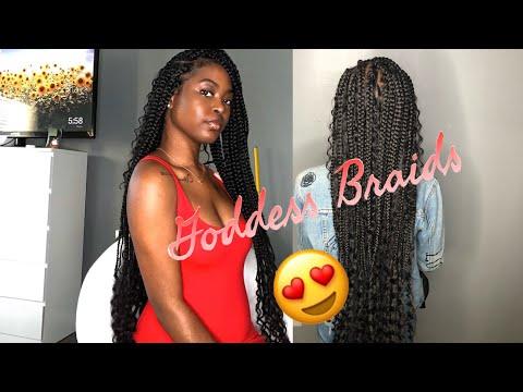 how-to-do:-goddess-box-braids/-bohemian-braids-on-someone-else!-||-nia-bia