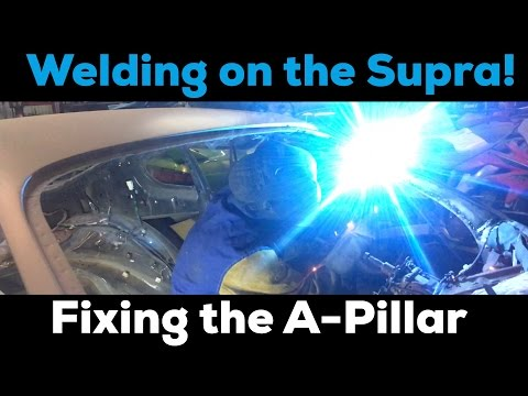Pt.8 MKIV Supra Project! | Replacing the A-Pillar!