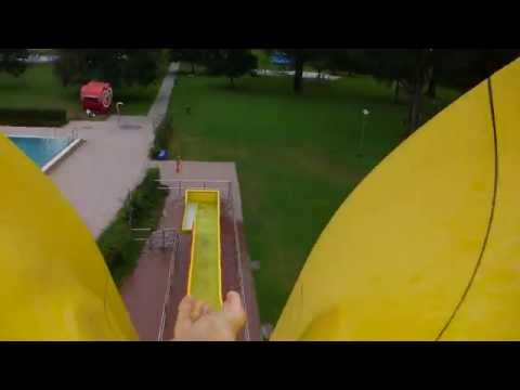 Sommerbad Fürth - Freefall Speed-Rutsche Onride