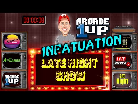 LATE-NIGHT REXERSHOW- Arcade 1UP INFATUATION!! & More from therexershow
