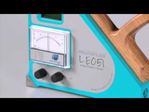 LE051 Microplan Group - Electronic Level with analogue and digital display