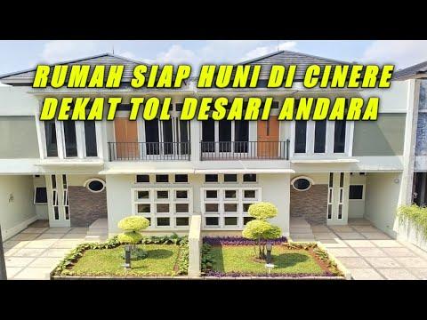 Rumah Dijual Cinere Dekat Pintu Tol Desari Di Andara Youtube