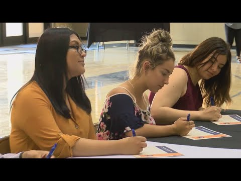 For Tranquillity High School seniors, College Signing Day a celebration of their future