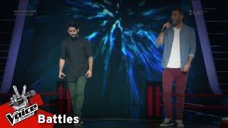 Νάσος Κατσίνας vs Νικόχρηστος Λαμπαούνας - Πλάτανος | 2o Battle | The Voice of Greece