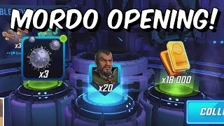 Mordo Early Access Orb Opening + Level Up, Abilities & Gameplay! - Marvel Strike Force