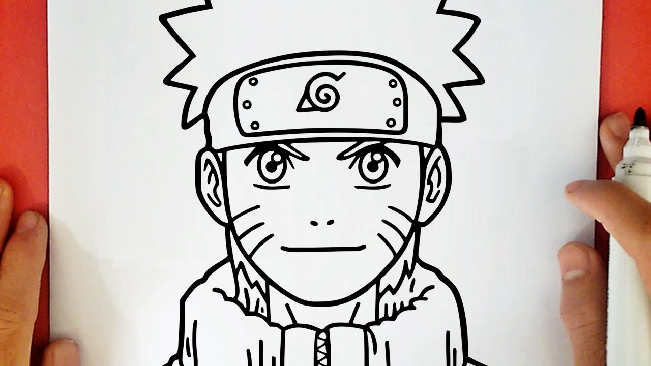 Comment Dessiner Naruto Youtube