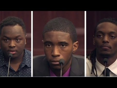 Victim's friends testify in Florida murder trial