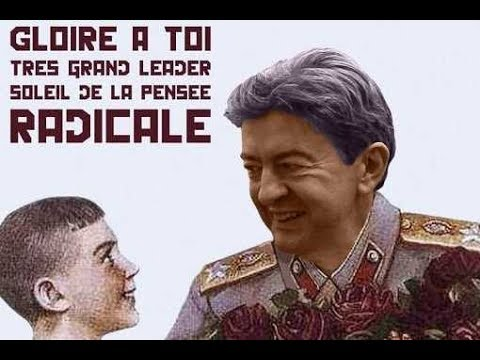 Image result for gloire a toi melenchon