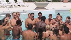 Panther Cheer following 2017 Florida Tech Crimson and Gray Meet