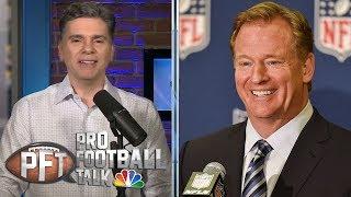PFT OT: Ezekiel Elliott and Roger Goodell, NFL franchise tag future   Pro Football Talk   NBC Sports