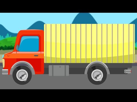 Goods Carrier | Street Vehicle | Transport Truck | Educational Video