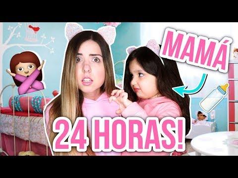¡24 HORAS SIENDO MAMÁ! (Madre Por Un Día) || Bianki Place ♡