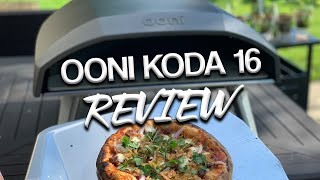 Ooni Koda 16 Pizza Oven Review with Real Time Pizza Build \u0026 Cook