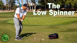 How to Hit the Low Spinning Golf Shot