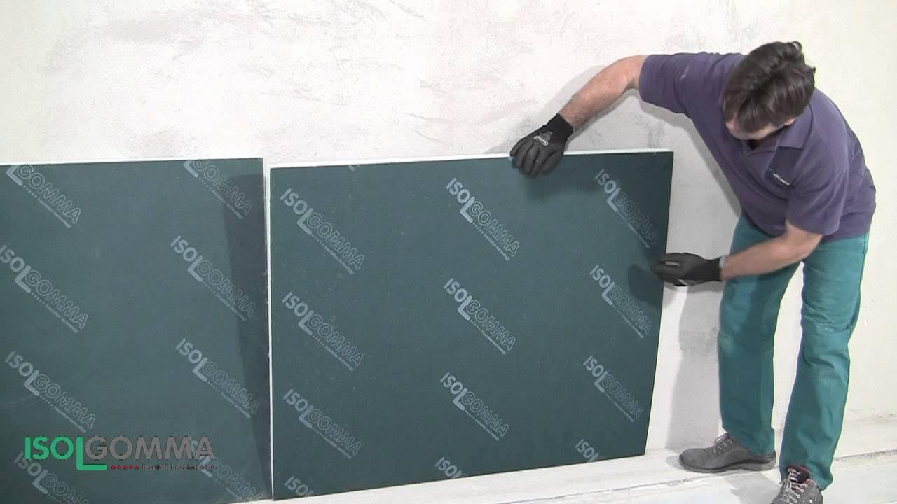 Isolamento termo acustico biwall parete doppia youtube - Coibentare una parete interna ...