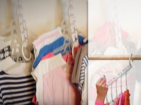 Чудо-вешалка для одежды [Domatv.by]