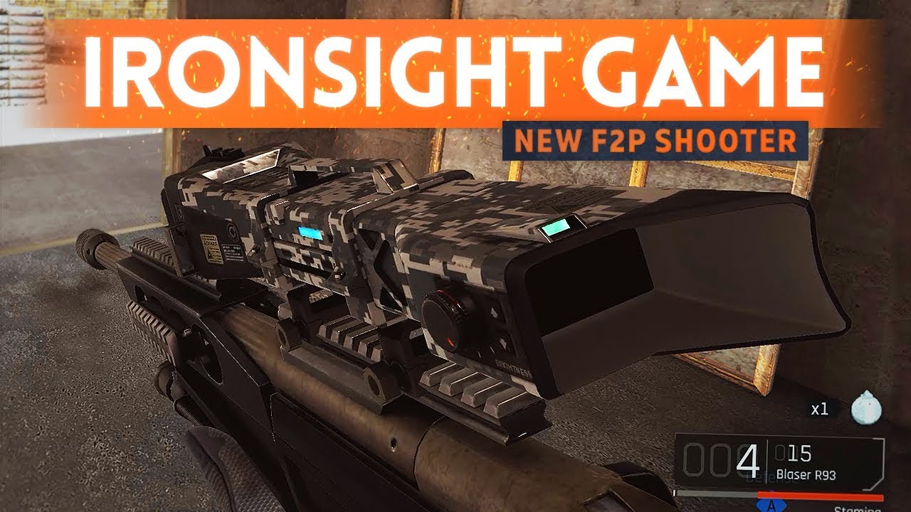 IRONSIGHT FIRST LOOK!- A New Free To Play FPS That ISN'T Pay To Win (And It's Good)