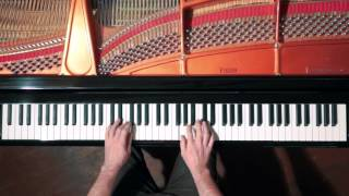 Bach 2 Part Invention No.4 - P. Barton, FEURICH Harmonic Pedal piano