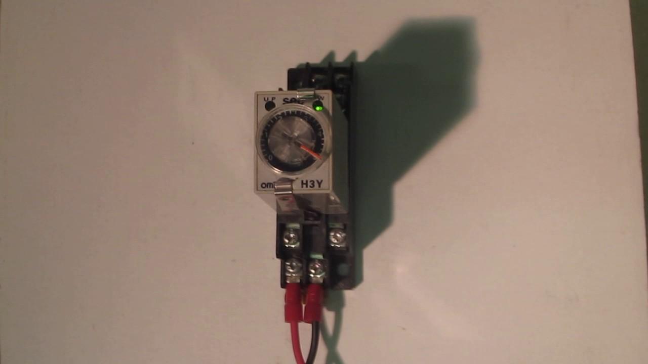Omron H3y-2 Ac200 5s Solid State Timer  Power Supply Ac 200 V Specification   U52d5 U4f5c U78ba U8a8d