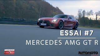 MERCEDES AMG GTR | UNE LÉGENDE AU VOLANT | Mission GDB #7 (1/3)