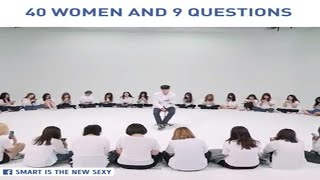 40 WOMEN AND 9 QUESTIONS | World Class Clips