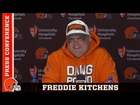 Freddie Kitchens Explains Landry Trick Play | Cleveland Browns