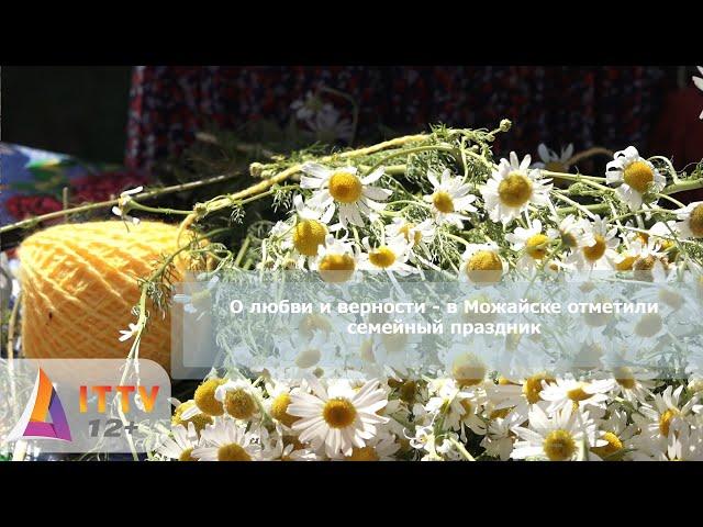 О любви и верности - в Можайске отметили семейный праздник