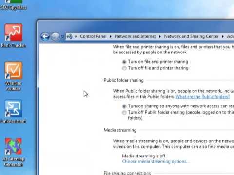 Hướng dẫn Cách chia sẻ File trong mạng Lan Win 7