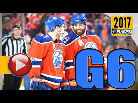 Anaheim Ducks vs Edmonton Oilers. 2017 NHL Playoffs. Round 2. Game 6. May 7th, 2017. (HD)
