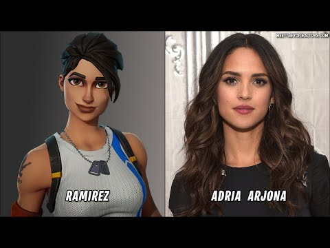 Fortnite Characters Voice Actors