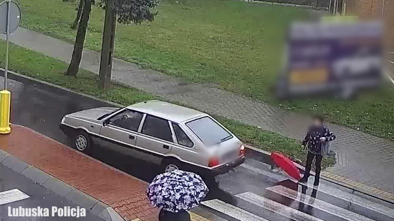 Świebodzin: O krok od tragedii! 84-latek potrącił kobietę na pasach