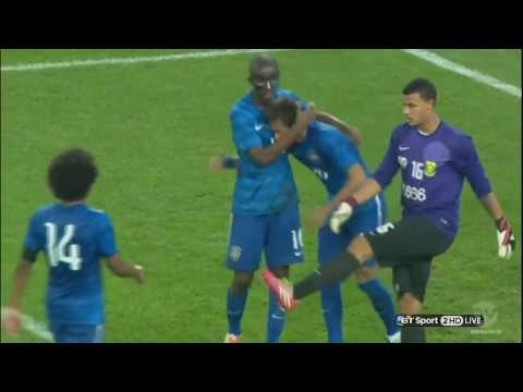 """ Neymar "" Hat-Trick (All 3 Goals)  South Africa vs Brazil 0-5  [HD] 2014"