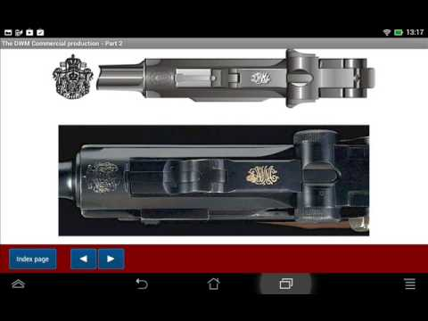 DWM made luger pistols - Android APP - HLebooks.com