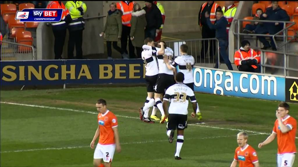 BLACKPOOL 1-3 DERBY COUNTY | Match Highlights