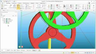 Video: Creo Direct Modeling Express, making a clock part 4