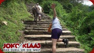 Nepal - Teil 1: Holprige Ankunft | Joko gegen Klaas - Das Duell um die Welt | ProSieben