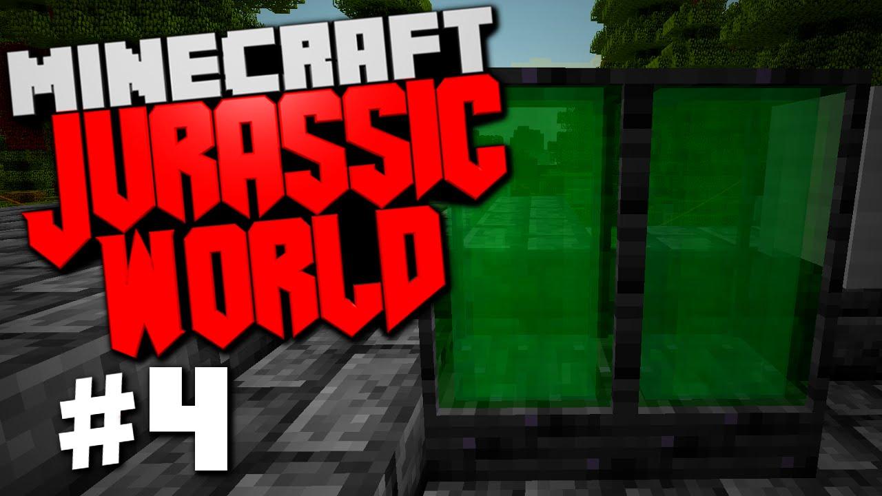 Jurassic World | Minecraft Rexxit Modpack #4