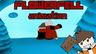 Flowerfell Animation Kiss Frans / Flowerfell Анимация Поцелуй Франс