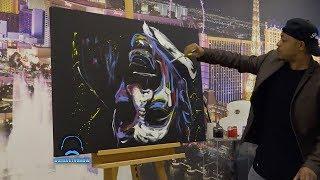 Artist Paints A Stunning Portrait Of Steve
