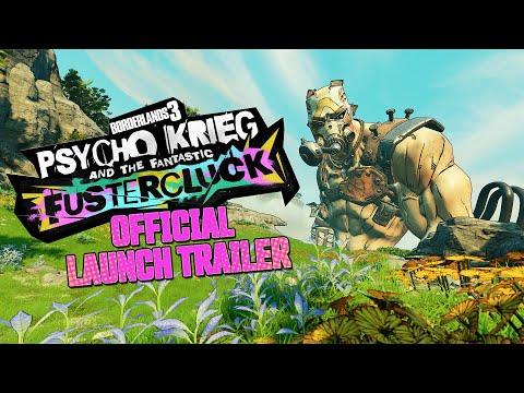 Borderlands 3: Psycho-Krieg und der fantastische Fustercluck - Offizieller Launchtrailer