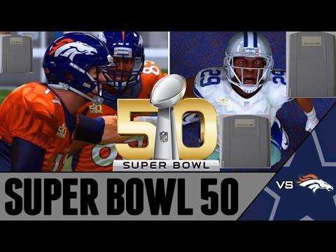 Madden N64 Prototype predicts Super Bowl 50 winner ! Carolina Panthers VS Broncos