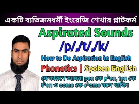 Aspirated Sounds /p/,