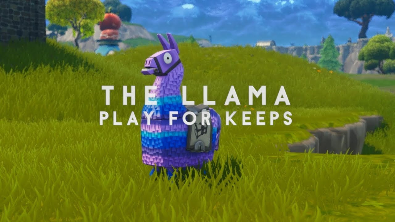 Quot The Llama Quot Play For Keeps Fortnite Replay Machinima