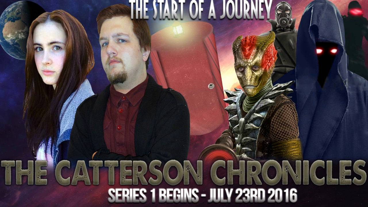 The Catterson Chronicles - Doctor Who Related spinoff - EXCELLENT! - Liam Catterson