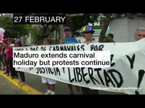 Venezuela: A look back at clashes over the last month