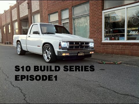 93 S10 BUILD SERIES EP1 (INTERIOR SWAP)