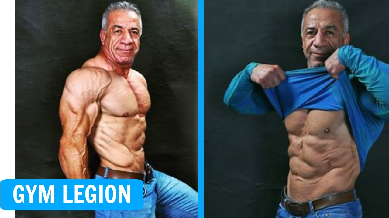 Mahmoud Zare Amazing Body Transformation At 55 Years Fitness And