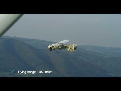 AeroMobil. The Flying Car. Test flights September-December 2020.