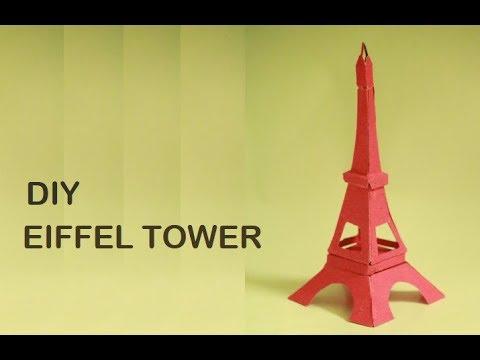 DIY- Eiffel Tower | Step by step tutorial